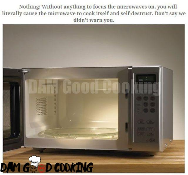 Stuff That Is Not Microwave Friendly