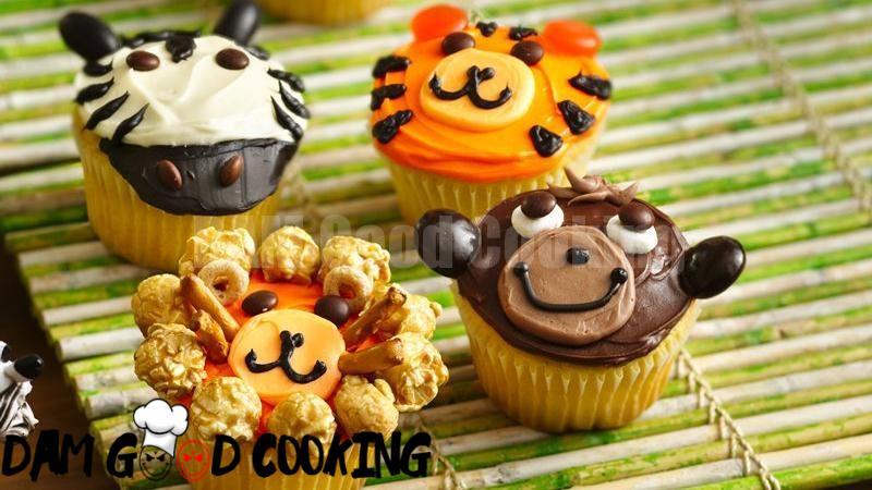 Jungle Animal Cupcakes Recipe