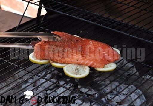 Grill fish on lemon slices to prevent it from sticking to the grill and add some extra flavor