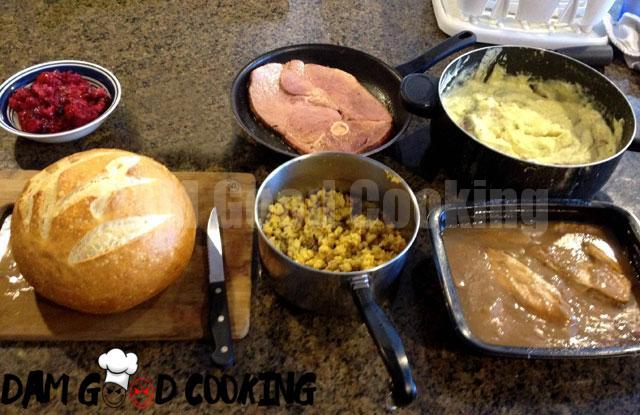 Thanksgiving Shooter Sandwich