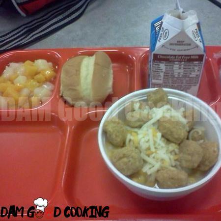 prison food or school food