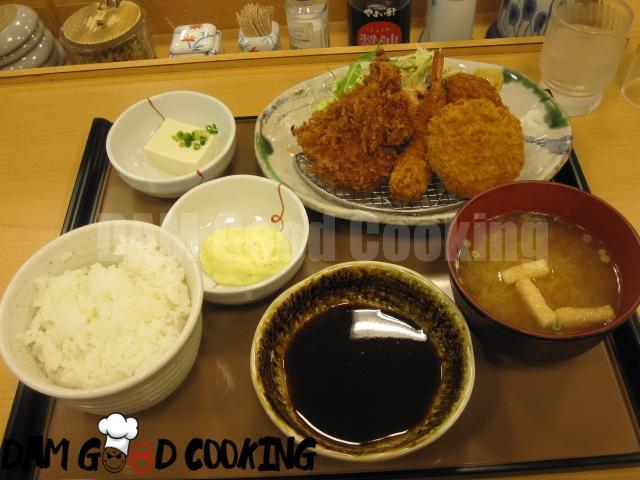 Tonkatsu set lunch