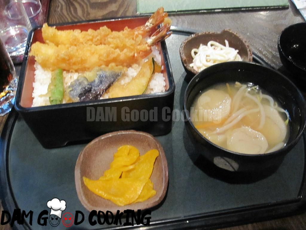 Tempura set lunch