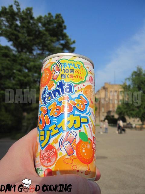 Fanta jelly 'drink'