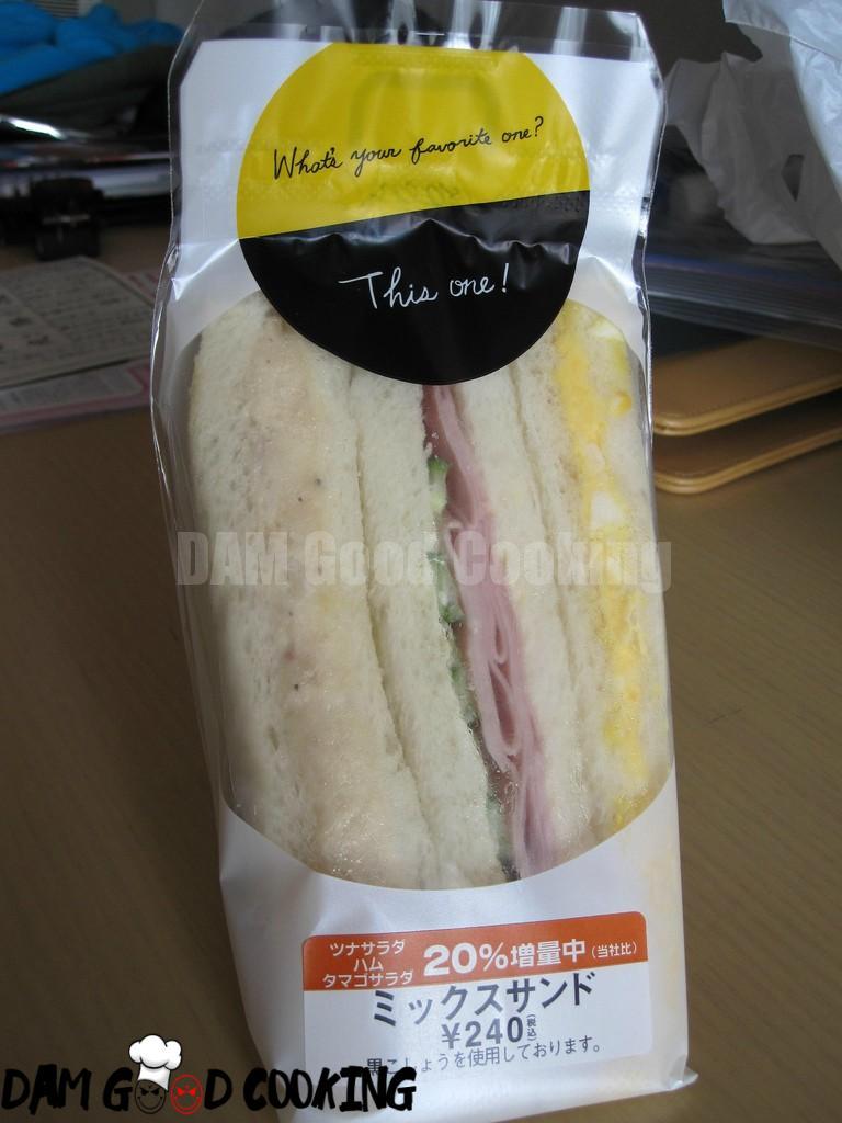 Konbini sandwich