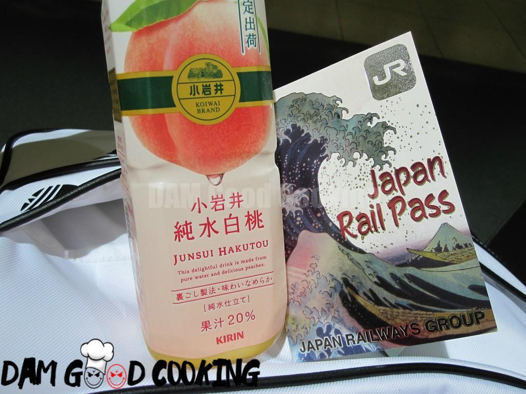 Kirin peach drink