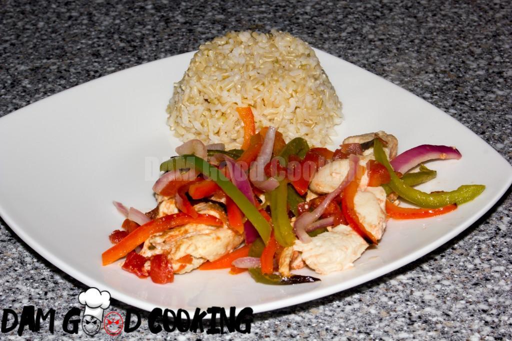 Oven Baked Chicken Fajitas-5