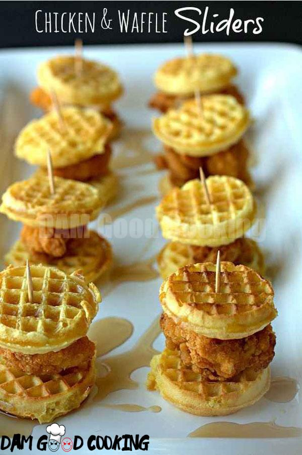 Chicken-and-Waffle-Sliders