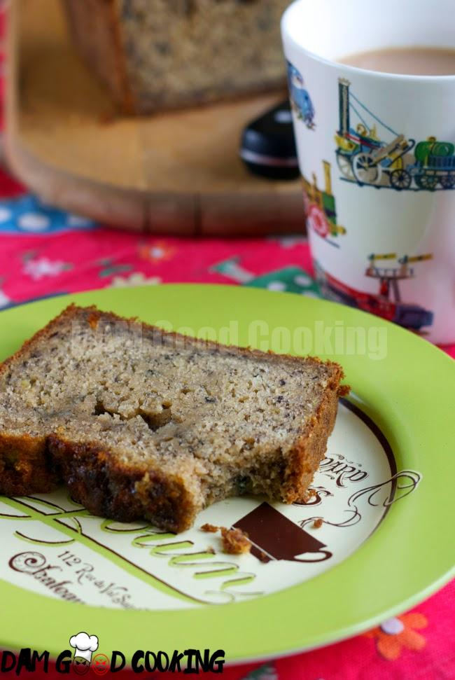 perfect squidgy banana bread