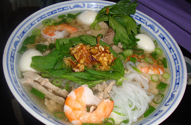 a gallery of delicious vietnamese food